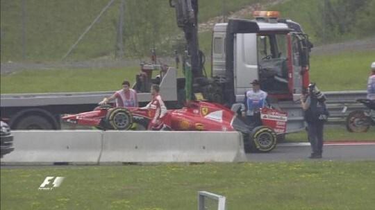 Vettel Problema FP1 tris