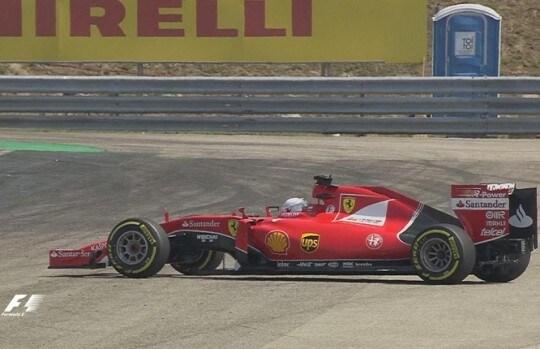 Testacoda Vettel FP2