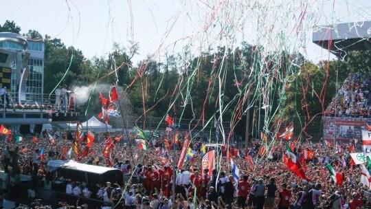 Festa podio