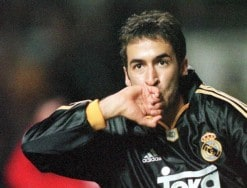 RAUL/MANCHESTER UNITED - REAL MADRID 2:3