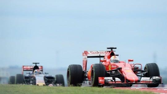 Vettel Inizio Gara
