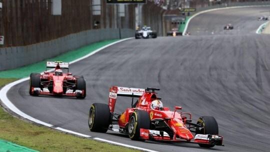 Vettel e Raikkonen Gara
