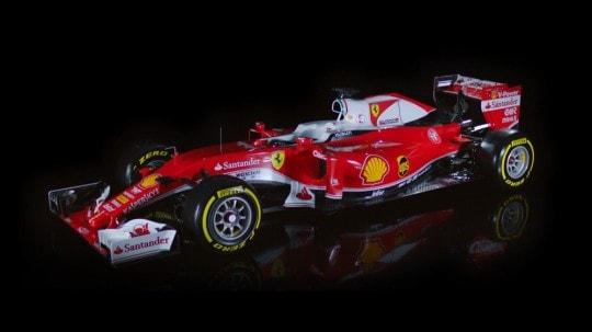 Ferrari SF 16 H Laterale