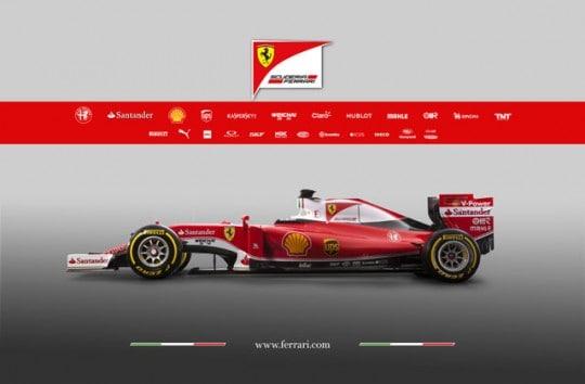 Ferrari SF 16 H Laterale Sx