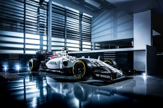 Williams FW 38 laterale