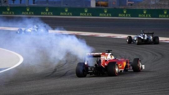 Vettel Ritiro motore bis
