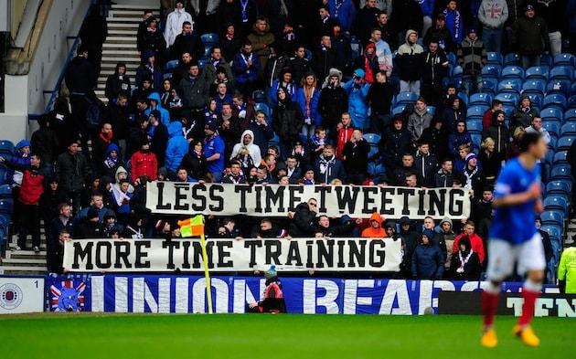 Rangers v Stirling Albion - IRN-BRU Scottish Third Division
