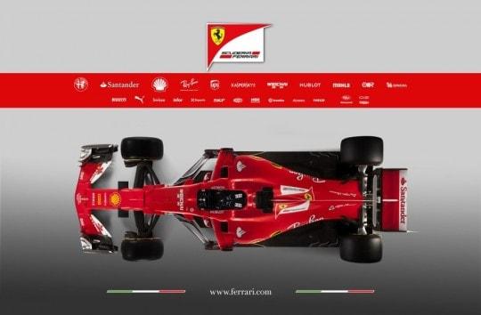 Ferrari SF 70 H alto