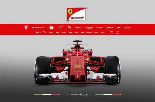 Ferrari SF 70 H anteriore