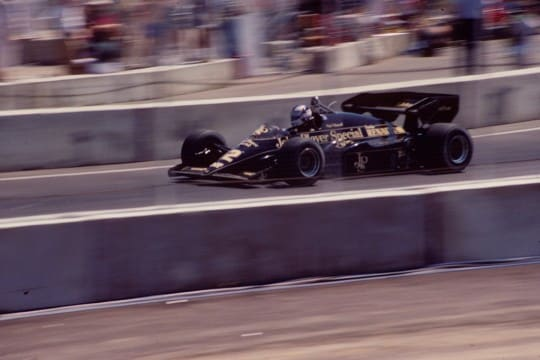 Mansell Dallas 1984 Gara