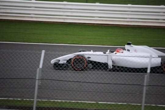 Kubica Silverstone 2017