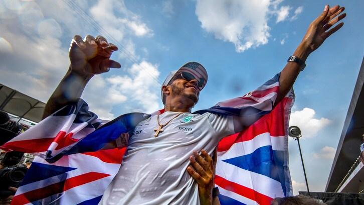 F1, Gp Messico: Hamilton e il quarto titolo iridato