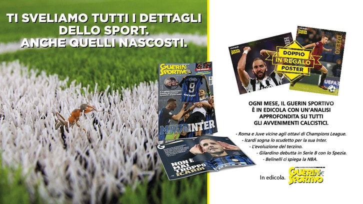 Guerin Sportivo, in edicola il nuovo numero con Icardi in copertina