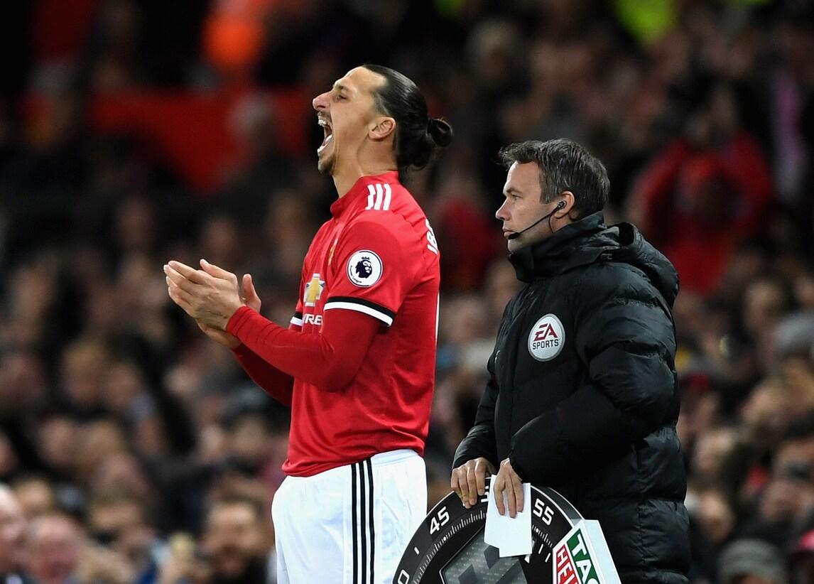 Manchester United, Ibrahimovic torna in campo dopo 7 mesi