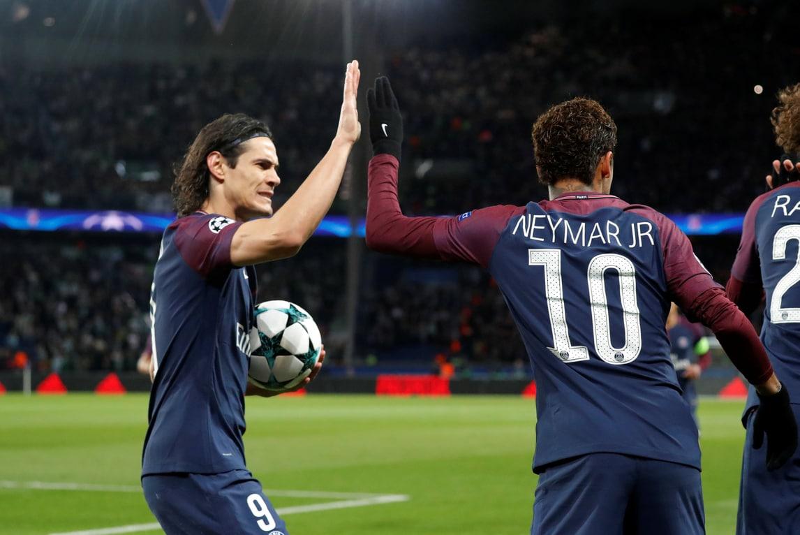 Neymar e Cavani, concorso di bellezza