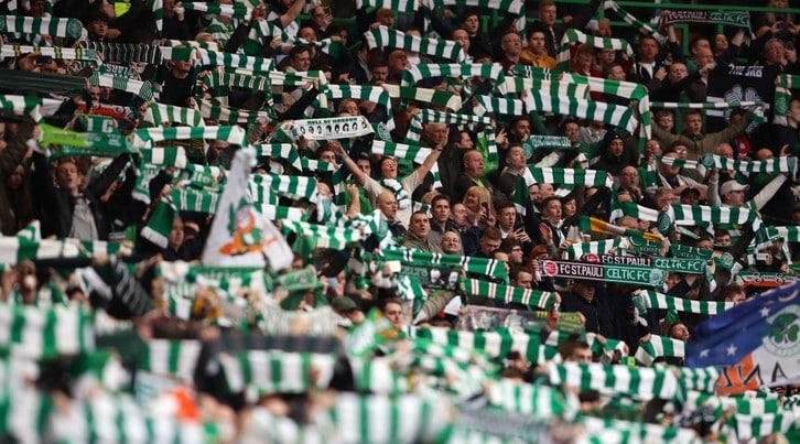 Tutti pazzi per i tifosi del Celtic Glasgow