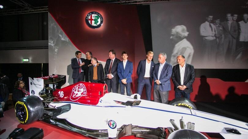 Ecco la nuova Alfa Romeo Sauber