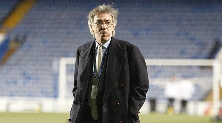 Massimo Moratti e la vita da tifoso del'Inter