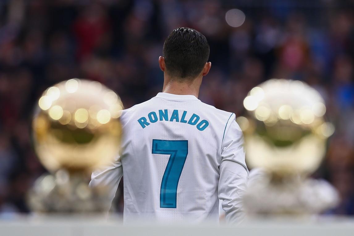 I 5 Palloni d'oro di Cristiano Ronaldo