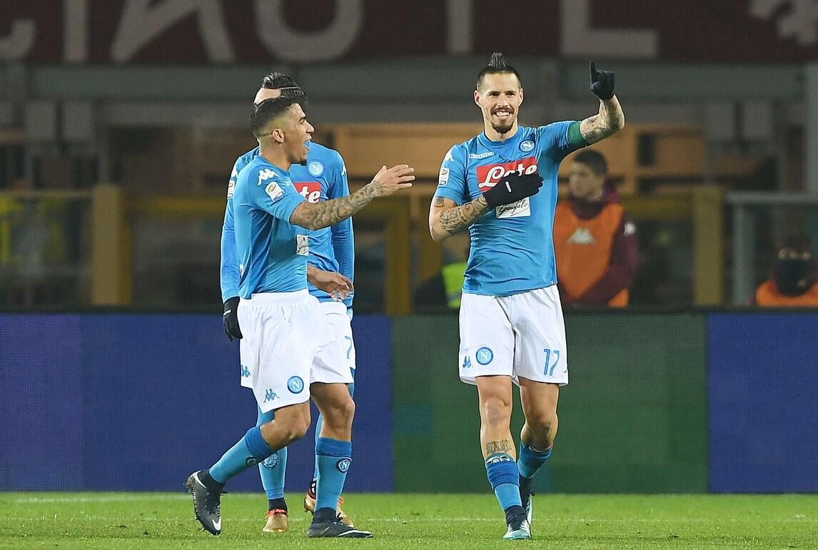 Hamsik raggiunge Maradona