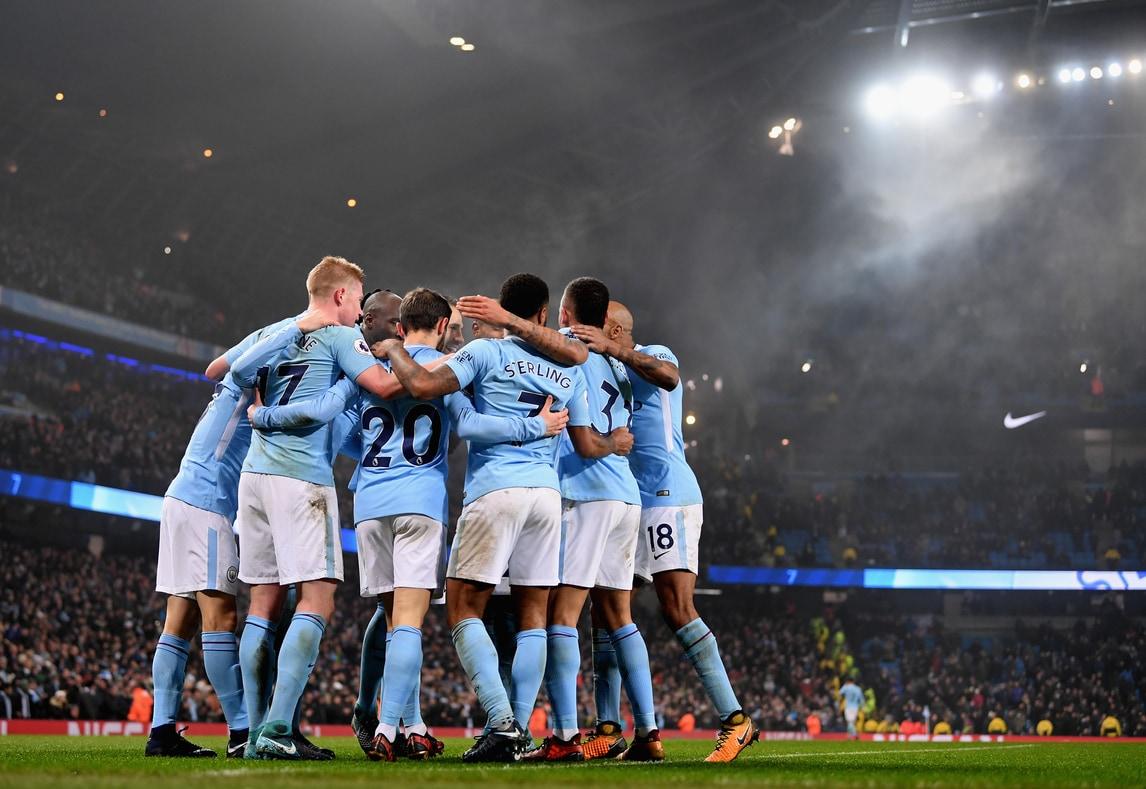 Il Manchester City cala il poker al Tottenham