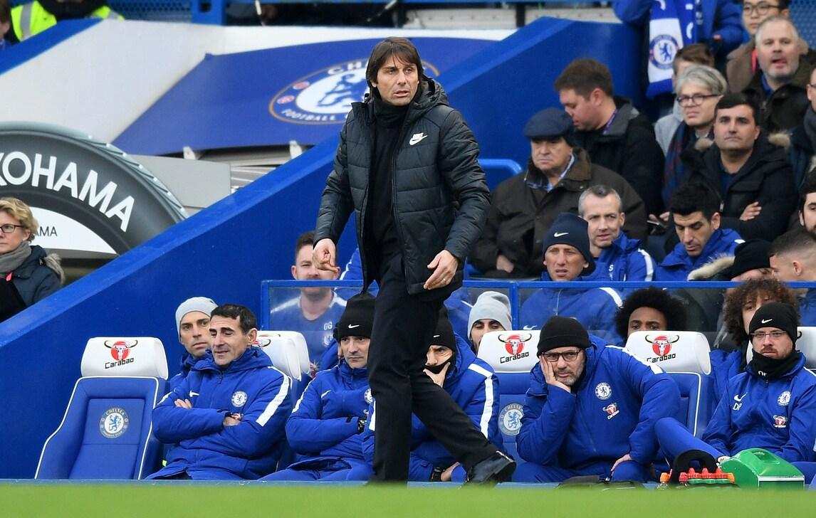 Il Chelsea di Conte si è spento, terzo 0-0