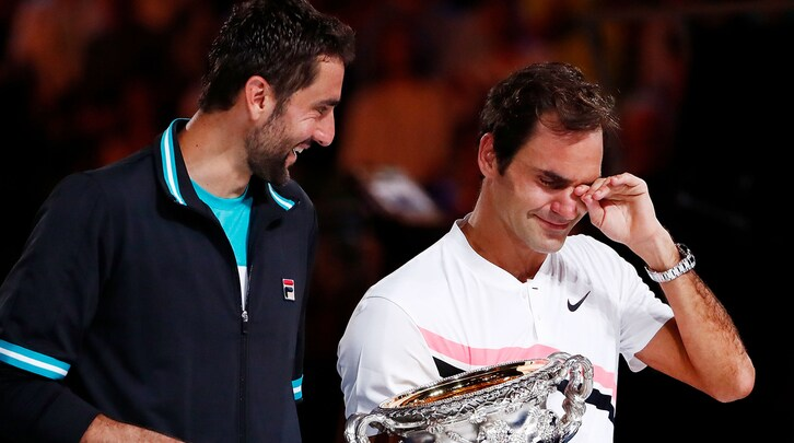 Un altro sogno per Federer