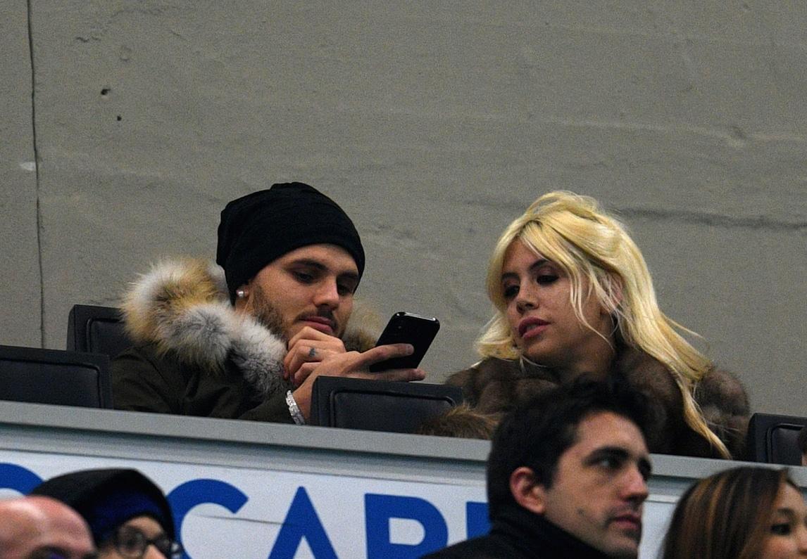 Icardi e Wanda uniti per l'Inter
