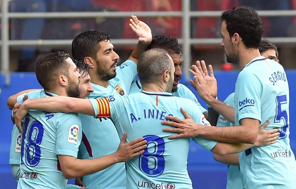 Il Barcellona continua a volare