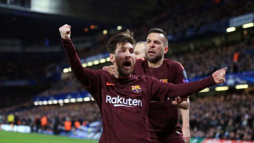 Messi, un gol al Chelsea: non c'era mai riuscito