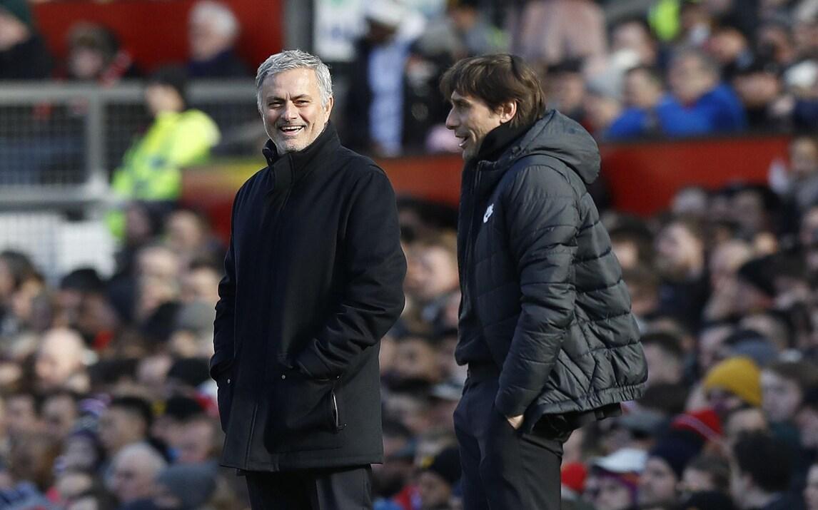 Mourinho sorride a Conte