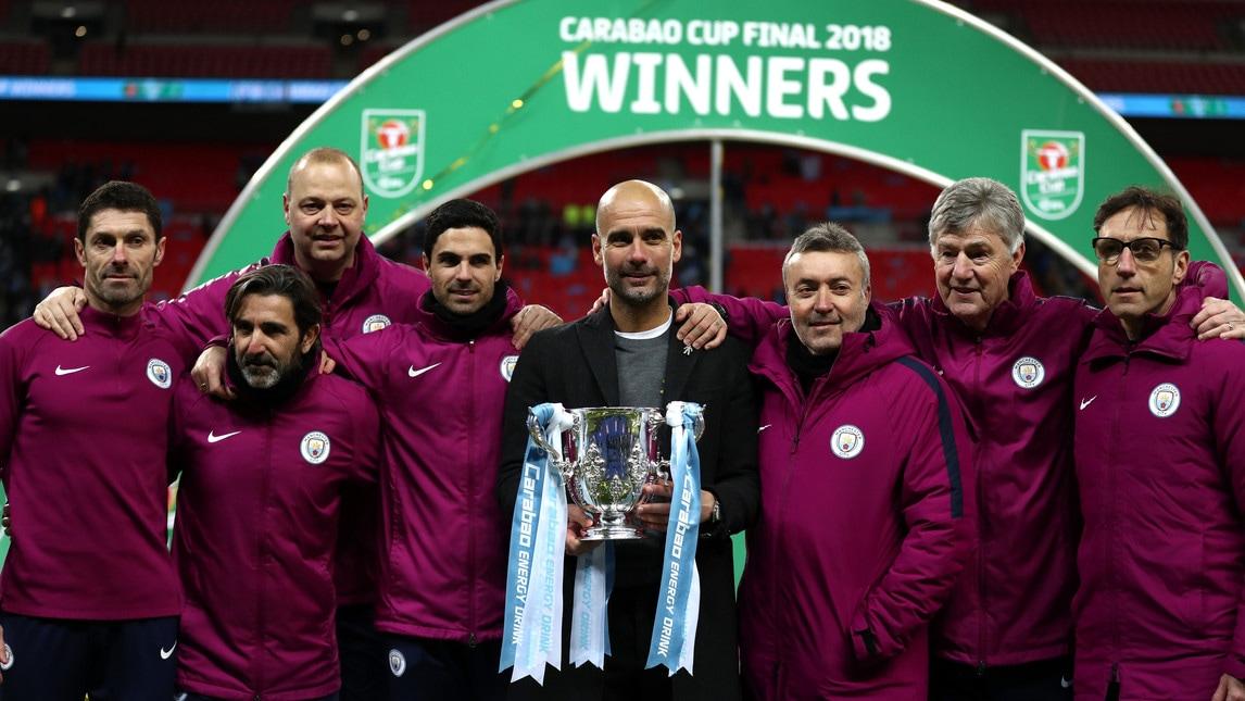 Guardiola, primo trofeo al City