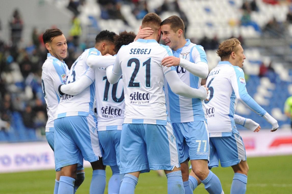 Sassuolo-Lazio 0-3: Inzaghi vola con Milinkovic-Savic e Immobile