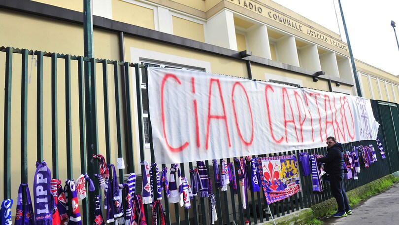 La Fiorentina piange Astori
