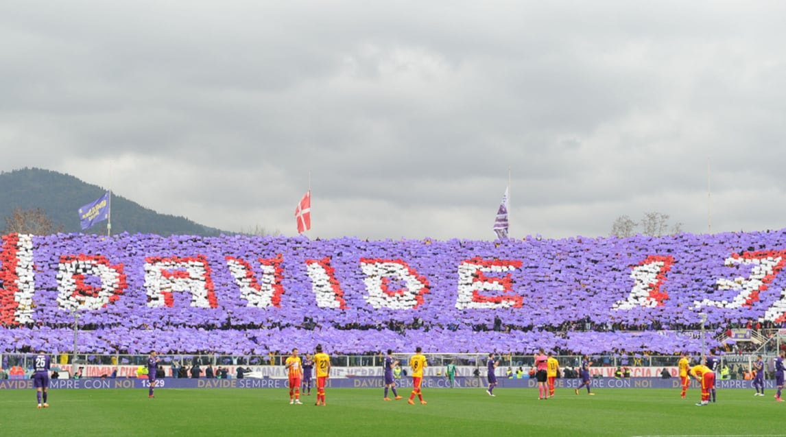 Firenze ricorda Astori