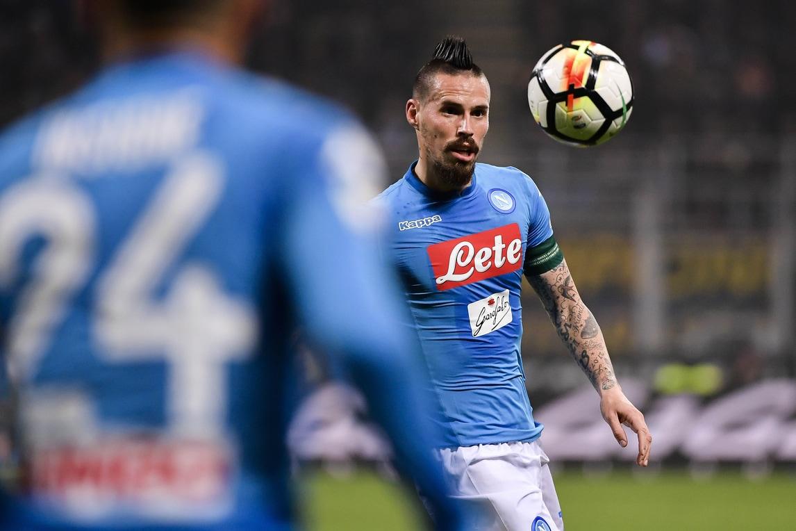 Il Napoli frenato dall'Inter