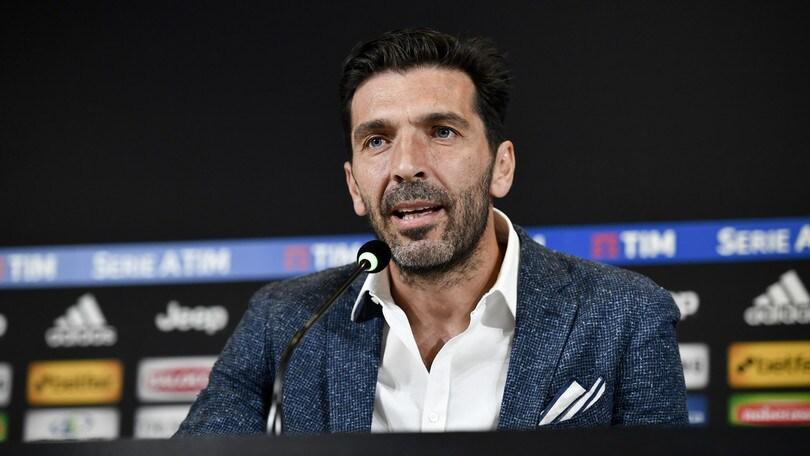 Buffon e i dirigenti da Juventus
