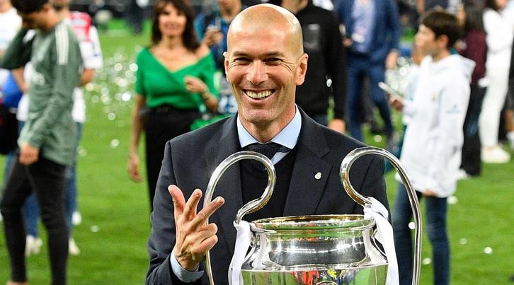 Il Triplete di Zidane