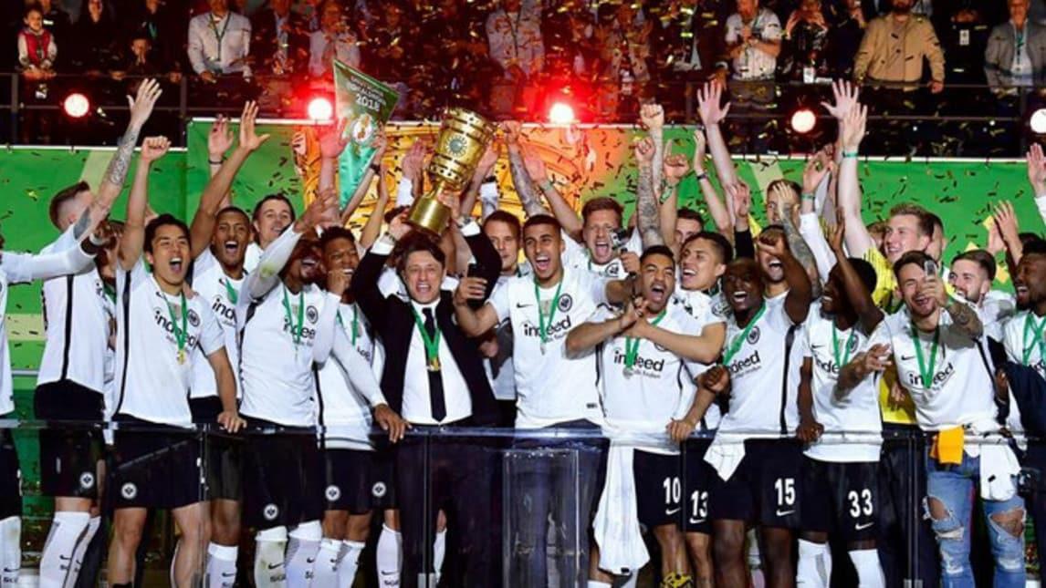 L'Eintracht e una partita da romanzo