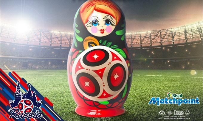 Russia 2018: per Sisal Matchpoint è il mondiale dei record!