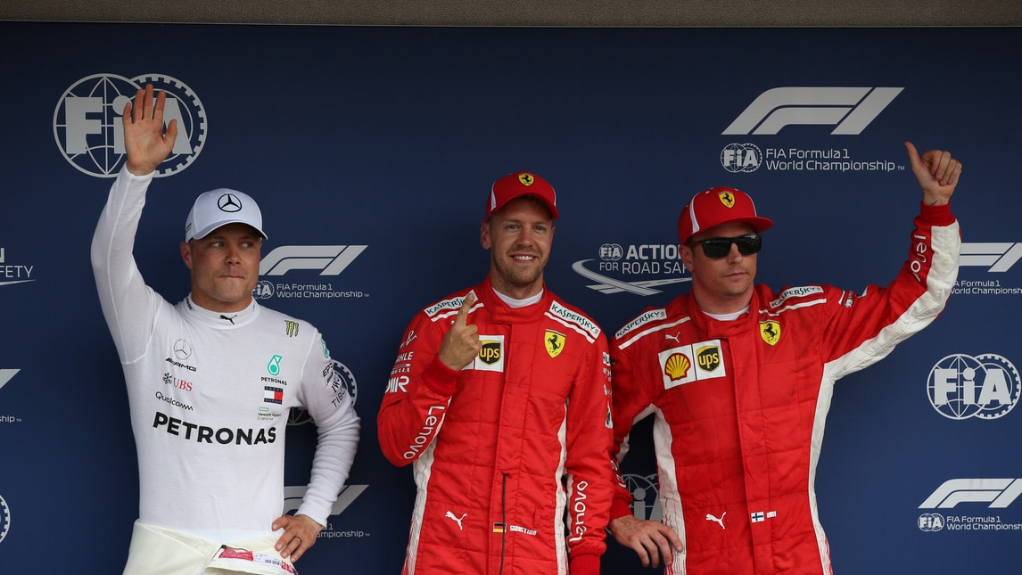 F1, Qualifiche Germania: Vettel in pole, Hamilton ko per lo sterzo