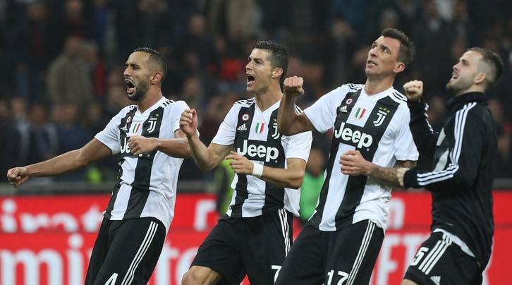 La Juventus che parte forte e arriva