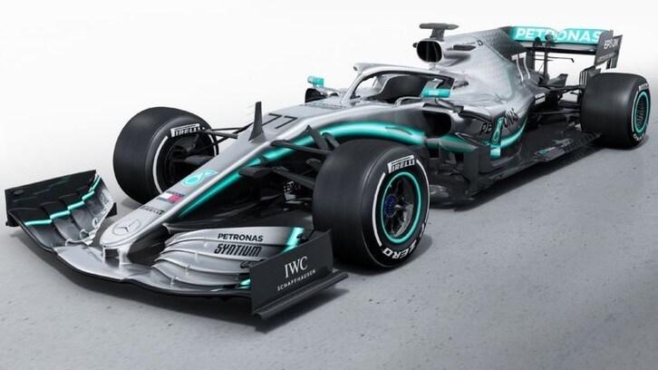 Monoposto F1 2019: Mercedes W10