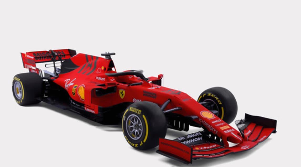 Monoposto F1 2019: Ferrari SF90