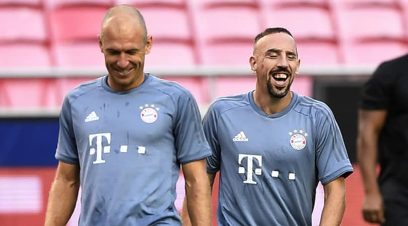 Il Bayern di Robben e Ribery
