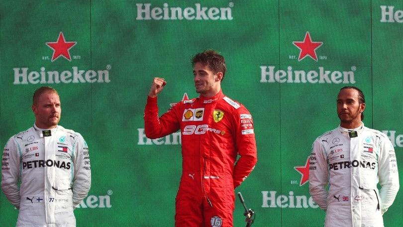 F1 Monza: la vittoria di Leclerc e il duello con le Mercedes