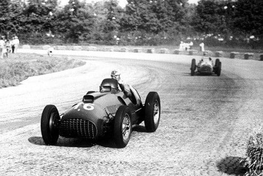 Ascari Monza 1950