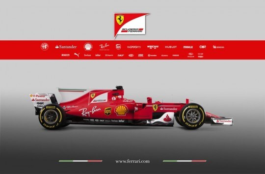Ferrari SF 70 H laterale dx bis