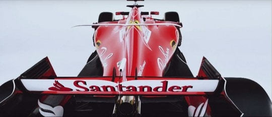 Ferrari SF 70-H Posteriore
