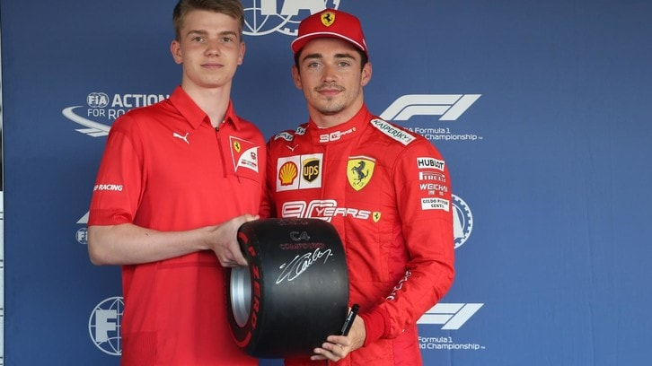 Robert Shwartzman e un sogno chiamato Ferrari